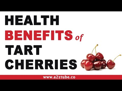 Health Benefits of Tart Cherries