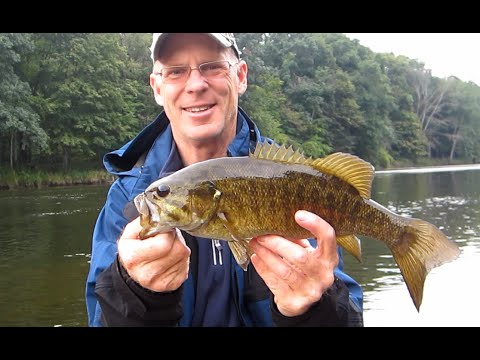 bass fishing the grand river