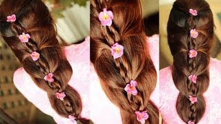 Hairstyles For Long Hair Juda : ... and Chic Wedding, Prom,and Party Hairstyle For Spring- Summer 06:28
