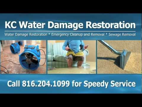 Kansas City Water Damage CALL (816) 204-1099 NOW http://kcwaterdamage.info Get dry floors and carpets in no time with fast service from the water removal exp...