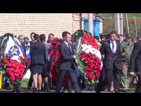 Прощание с героем Александром Прохоренко