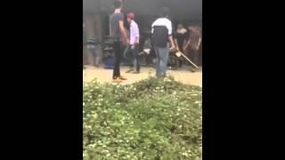 Học sinh trường THPT Hàm Yên đánh nhau như phim chưởng