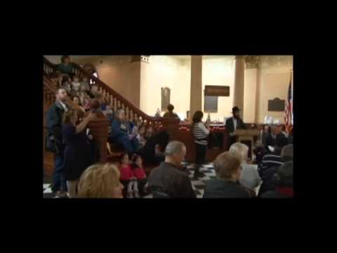 WY Capitol Menorah Lighting (Part 4): Montessori School of Cheyenne