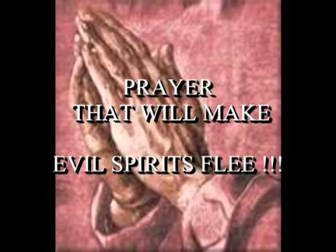 HOW TO PRAY AGAINST EVIL SPIRITS (DEMONS)