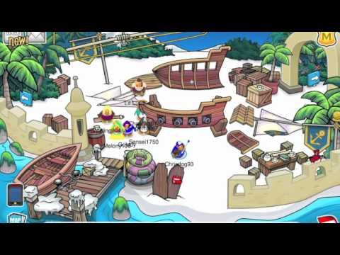 Club Penguin Adventure Party 2011 Walkthrough