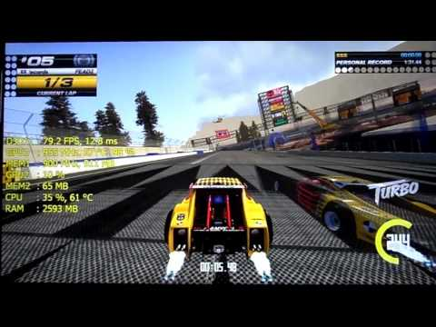 Lenovo IdeaPad: AMD R5 M330 - i3 5020U | Gaming test #6: Trackmania Turbo