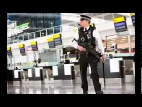 Man arrested at Heathrow Airport on terrorism charges