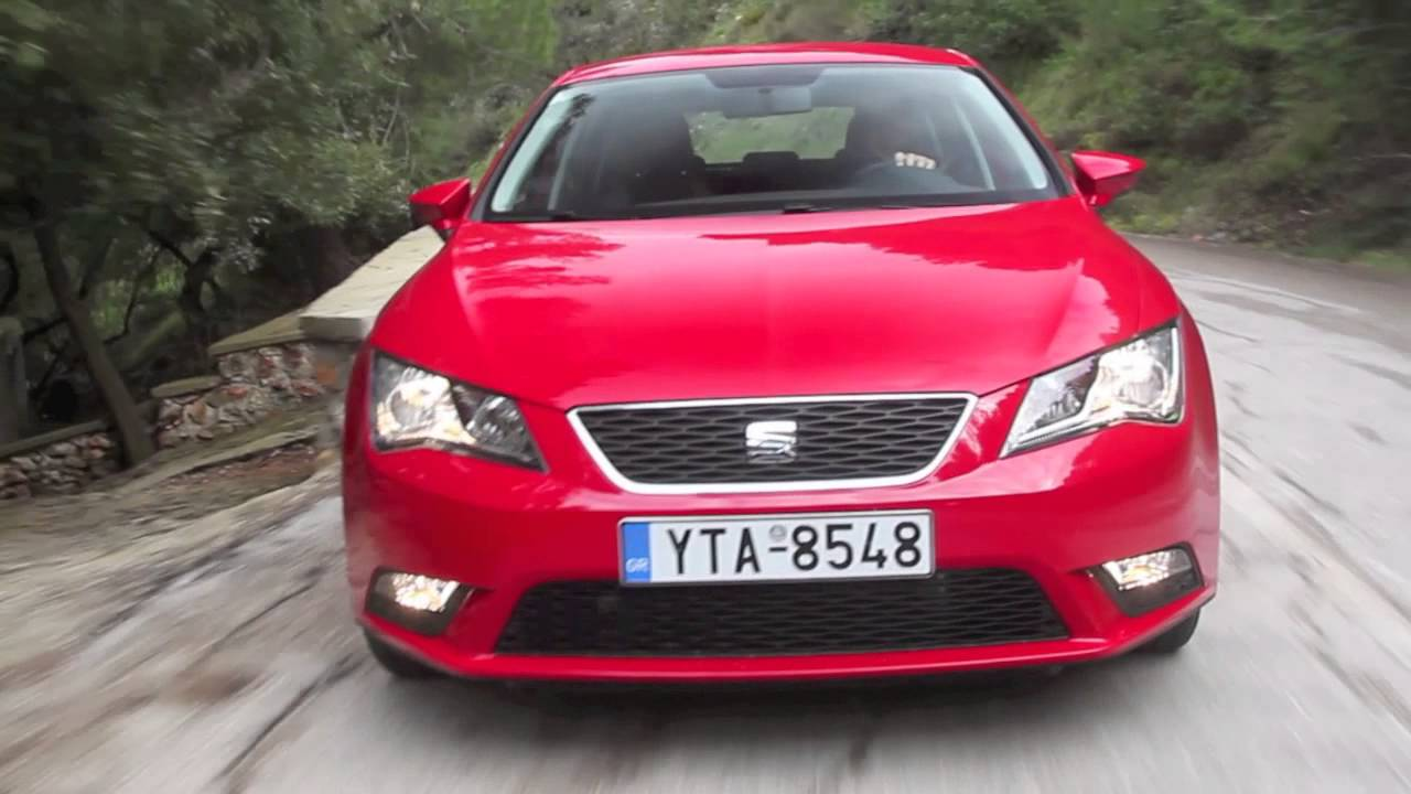 test seat leon 1 2 tsi youtube. Black Bedroom Furniture Sets. Home Design Ideas