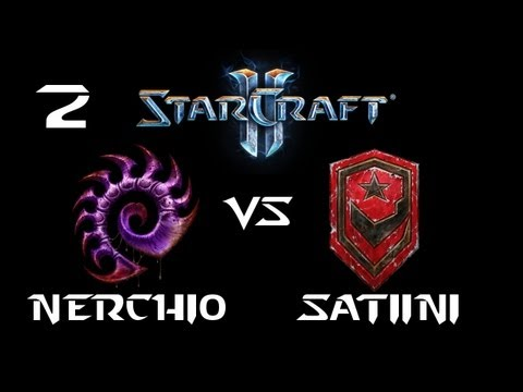 StarCraft 2 - Nerchio [Z] vs Satiini [T] G2 (Commentary)