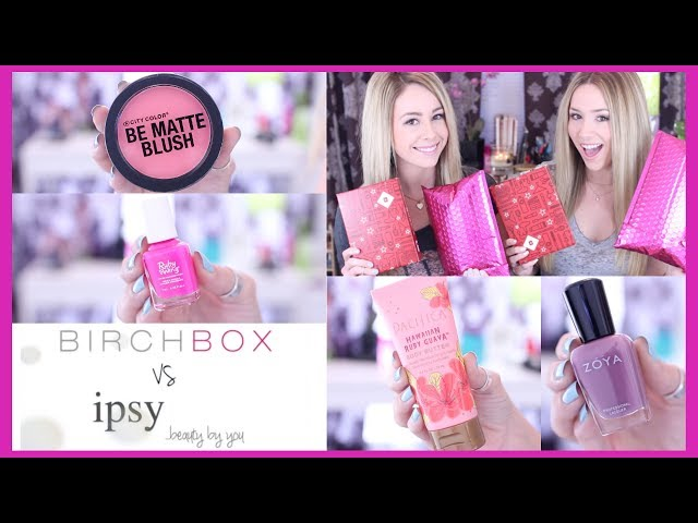 Unboxing: Birchbox vs. Ipsy - FEBRUARY | eleventhgorgeous