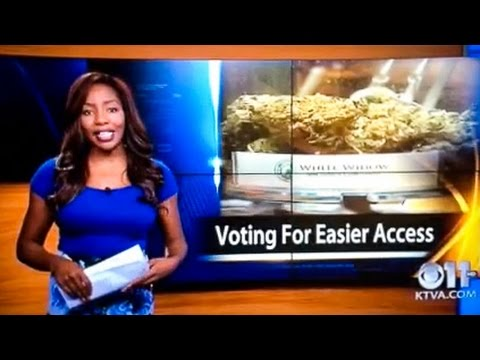 KTVA reporter quits on-air, reveals herself as owner of Alaska Cannabis Club...