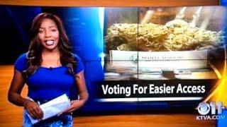 "KTVA Nigress Junk Media Hack Says ""Fuck it I Quit""... Owns Weed Farm in Alaska"