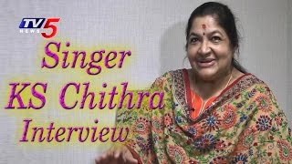 Singer K.S. Chithra Exclusive Interview | SPB 50 Years | TV5 news