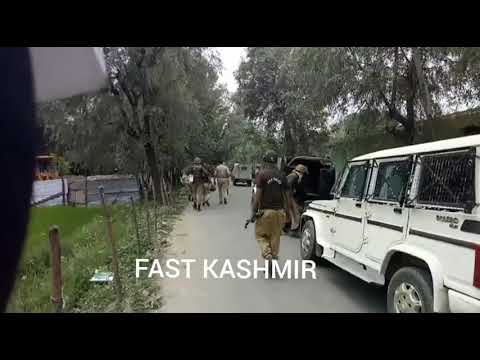 Video, College Students protest in Kupwara against civilian killings