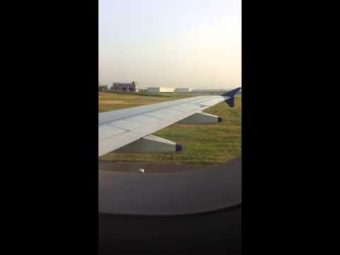 Ishaan's Indigo Airlines landing in Delhi Airport