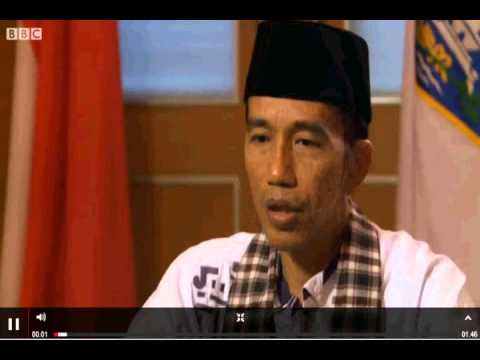 Jokowi on BBC News (full version)