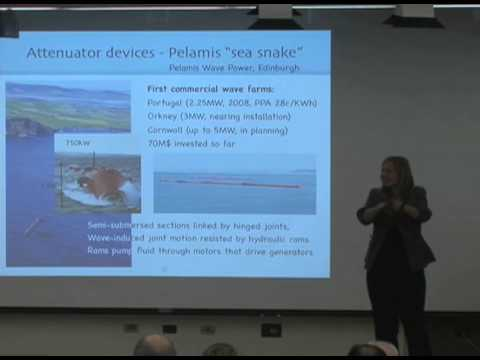 Marine Energy Technology