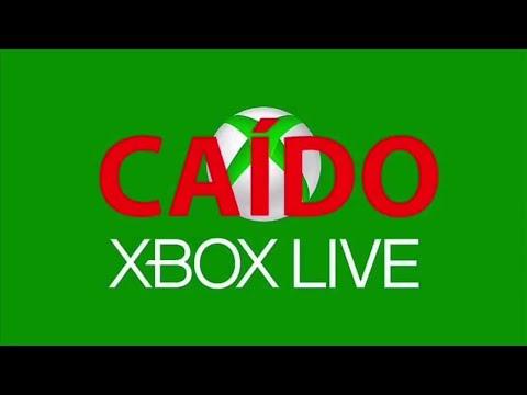 ¡¡¡Xbox Live Caído!!! ( No Funciona ) Xbox One - Xbox Series - Xbox 360