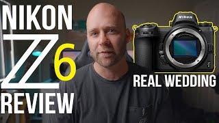 Nikon Z6 Review - Shooting a Wedding with the Nikon Z6 vs Sony A7R3 - Honest Opinion