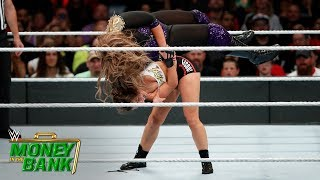 Rousey takes down Jax with an incredible Judo throw: Money in the Bank 2018 (WWE Network Exclusive)