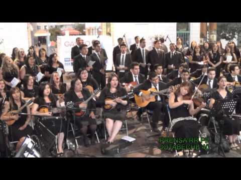 """Coro Plantilla en Concierto """"Un Milagro Hay Para Ti"""", Jotabeche 40"""