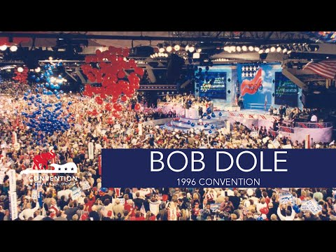 Acceptance Speech | Senator Bob Dole | 1996 Republican National Convention