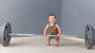 Funny Babies Doing Exercises Compilation