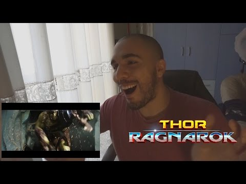 Thor - Ragnarok - Thor Vs. Hulk - Trailer Reaction