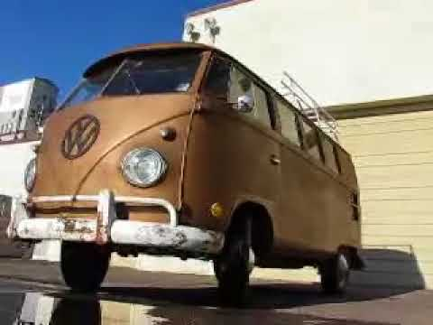 1961 Split-Window VW Kombi Bus