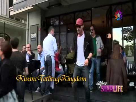 Kıvanç Tatlıtuğ & Başak Dizer in Nişantaşı 4. 5 .2014 كيفانج وباشاك خلال خروجهم من مقهى في نيشانتاشي