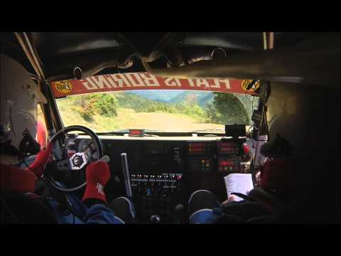 Hellas Rally Raid Lepanto 2013 D5 SS1 Dimitriadis -Kalfas In car