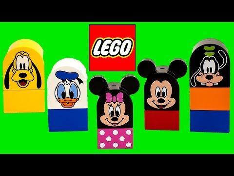Lego Duplo Mickey Mouse Clubhouse Construction Toys Megabloks Disney Junior Minnie Mouse video