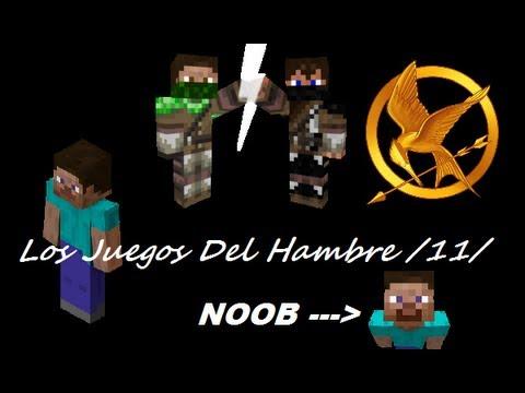 Minecraft 1.6.2 SERVER-NO PREMIUM Los Juegos del Hambre 11 Trolleo y ganamos!