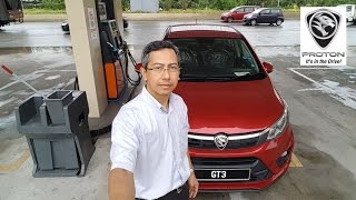 Collecting My New Proton Persona and First Drive ★GT Plate★