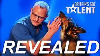 Dave & Finn: BGT Police Dog Audition Magic Trick REVEALED