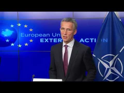NATO Secretary General with EU High Representative for Foreign Affairs - 04 NOV 2014