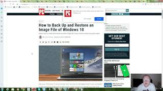 Full Backup Process for Windows 7/10 and Windows 10 Rant