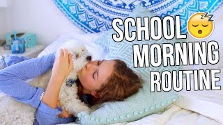 My School Morning Routine 2017!