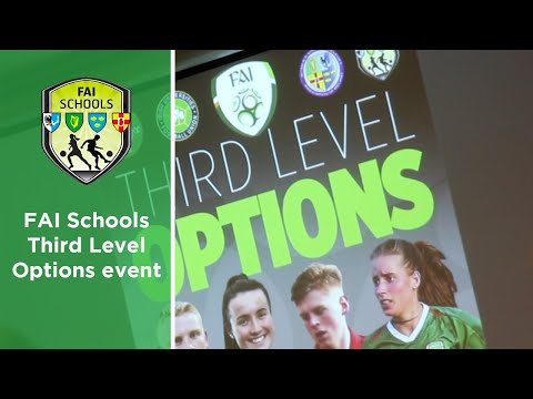 FAI Schools Third Level Options event