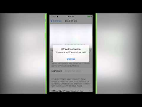 Google Voice in Native Messages? - SMS on GV iOS 7 (Tweak Reviews)
