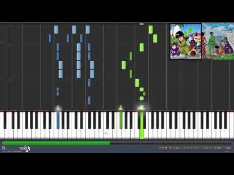 Dragon Ball Super Ending 3 - Usubeni (Synthesia)