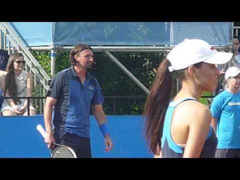 Tennis Legends: Kafelnikov vs. Ivanishevitch 16.06.2013 (2)