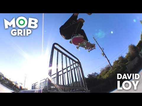 "David Loy: Graphic MOB x Krux Trucks | ""Kitty Hanger"" MOB Grip"
