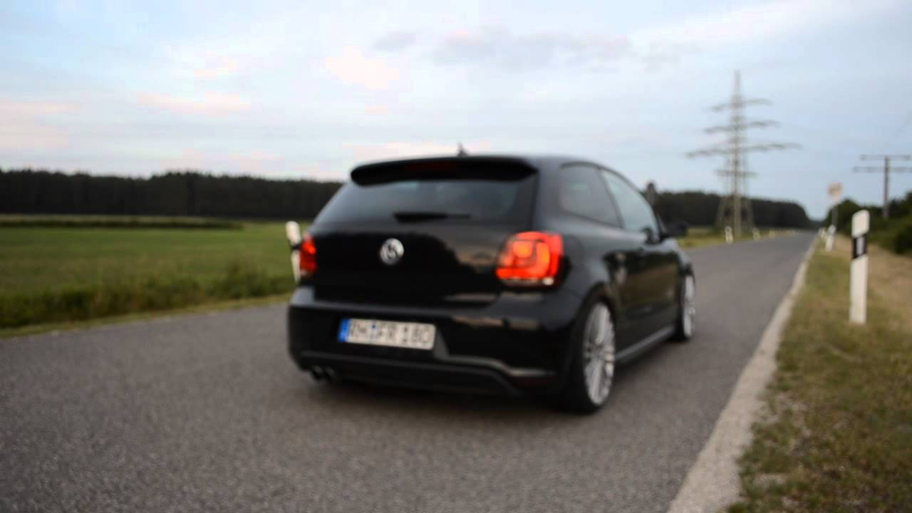polo 6r gti 1 4tsi non resonated sound youtube. Black Bedroom Furniture Sets. Home Design Ideas