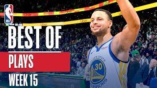NBA's Best Plays   Week 15
