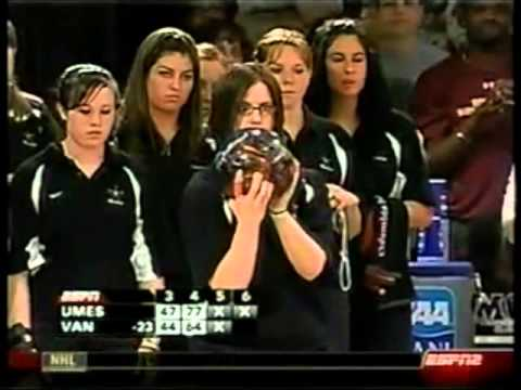 2007 NCAA College Women s Bowling Championship Vanderbilt vs Maryland Eastern Shore