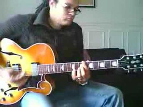 Estate - Chord melody jazz guitar