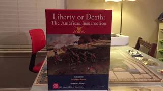 Liberty or death the American Insurrection board game review