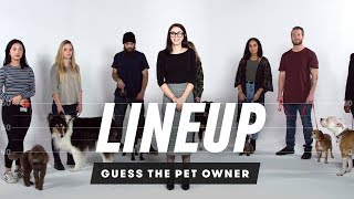 Match the Dog to Their Owner | Lineup | Cut