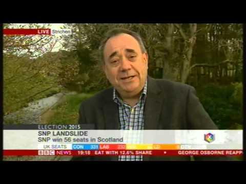 Alex Salmond interview (BBC), 8th May 2015